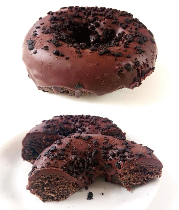 【コンビニドーナツ】セブン-イレブン「生チョコサンドのチョコドーナツ」【こってり濃厚チョコレート】_d0272182_14591122.jpg
