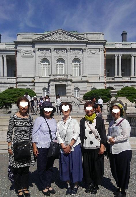 豪華絢爛でした! 迎賓館赤坂離宮_d0043390_23062270.jpg