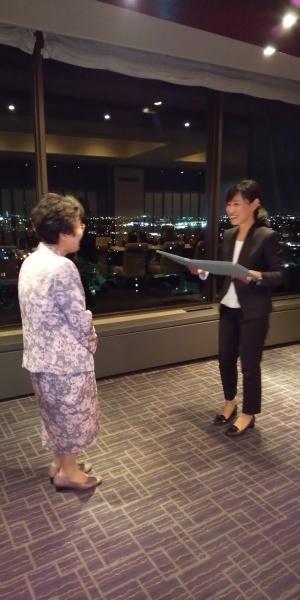 社会ボランティア賞受賞祝賀会_c0185796_14363607.jpg