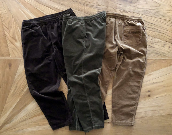 【DELIVERY】 STANDARD CALIFORNIA - Stretch Corduroy Pants_a0076701_18145773.jpg