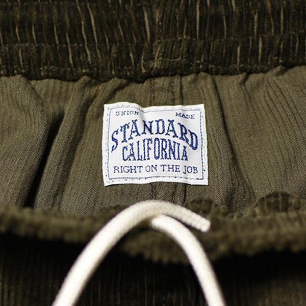 【DELIVERY】 STANDARD CALIFORNIA - Stretch Corduroy Pants_a0076701_18170963.jpg