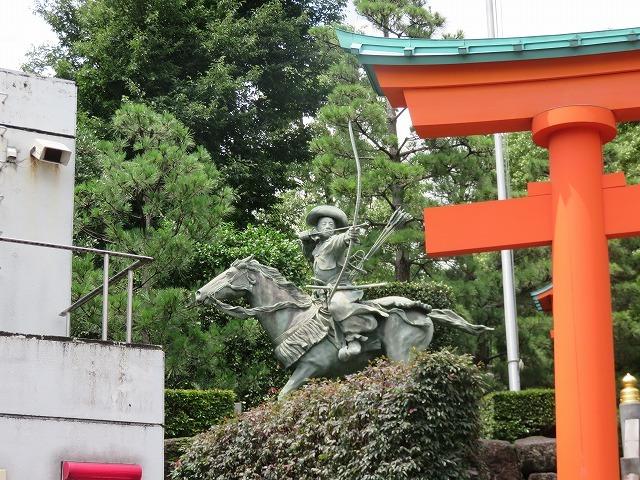 戸山公園(新江戸百景めぐり⑦)付記-穴八幡宮と高田馬場_c0187004_18334288.jpg