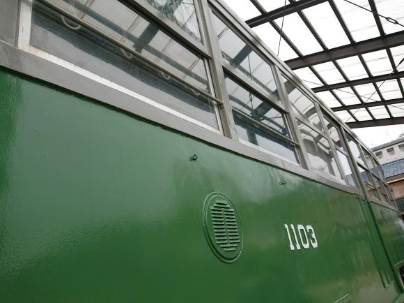 10/19 かつ萬 ロースカツ弁当 with 神戸市電1103号車_b0042308_07301842.jpg