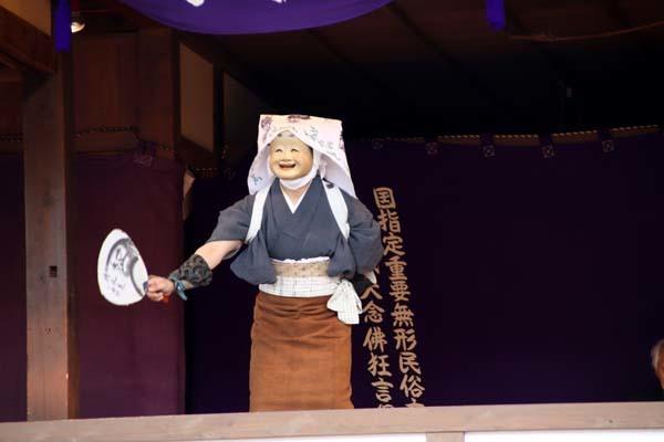 嵯峨大念仏狂言 清凉寺(釈迦堂)_e0048413_20332108.jpg