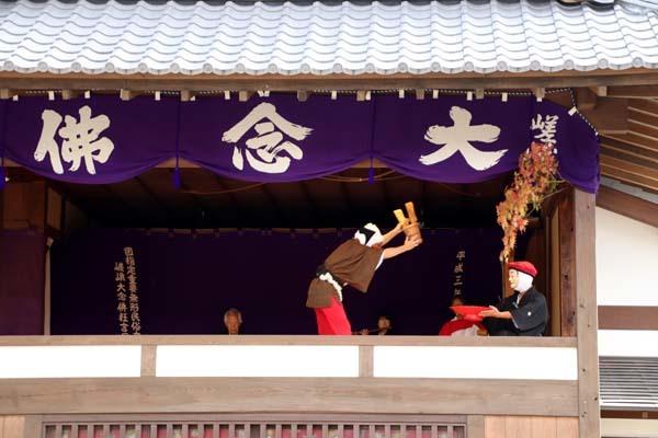 嵯峨大念仏狂言 清凉寺(釈迦堂)_e0048413_20333315.jpg