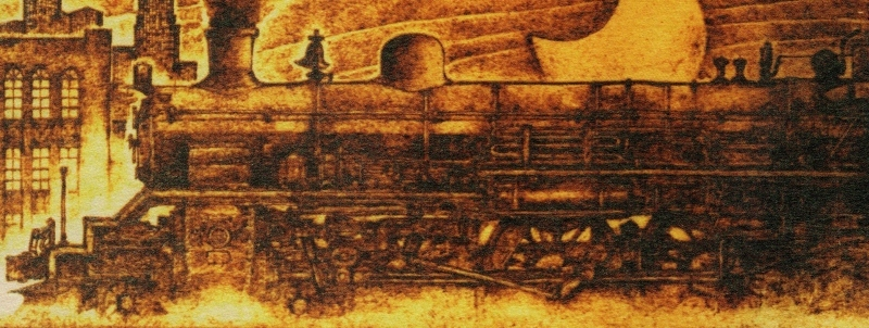 トレインアートから蒸気機関車C53型_f0227828_21102249.jpg