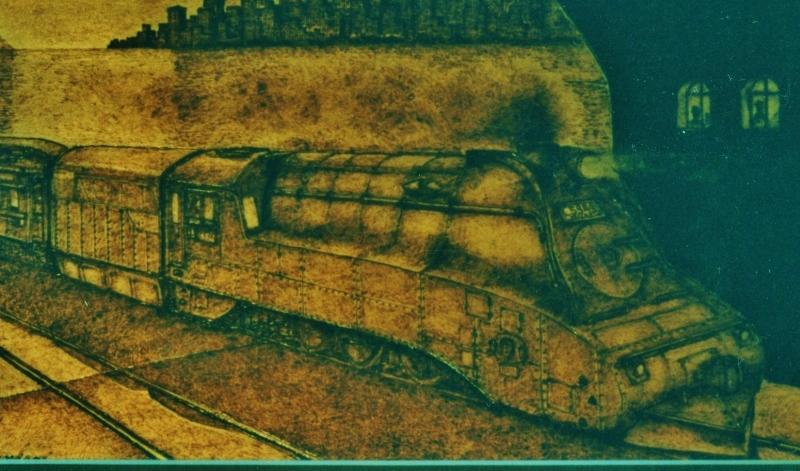 トレインアートから蒸気機関車C53型_f0227828_21113774.jpg