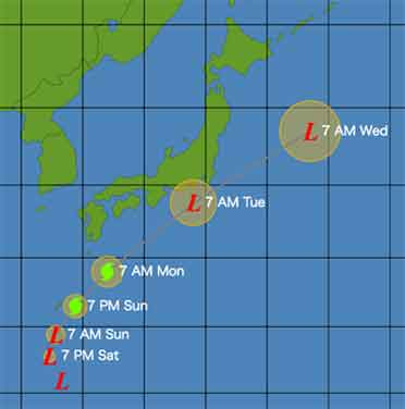 またもや台風が千葉に被害をもたらす?!? / Typhoon Neoguri_b0003330_1372524.jpg