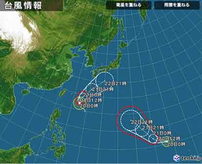 またもや台風が千葉に被害をもたらす?!? / Typhoon Neoguri_b0003330_1433418.jpg