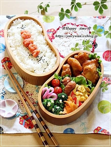 からあげ・明太子弁当と今週の作りおき♪_f0348032_16535795.jpg