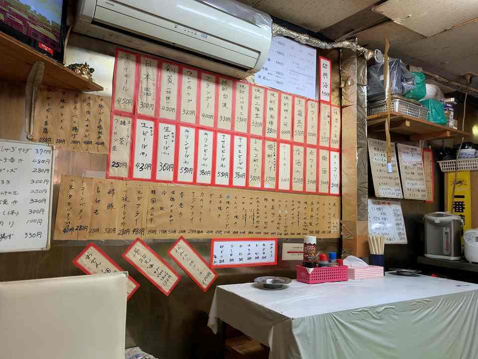 萩ノ茶屋の居酒屋「立ち呑みグルメ」_e0173645_19133229.jpg