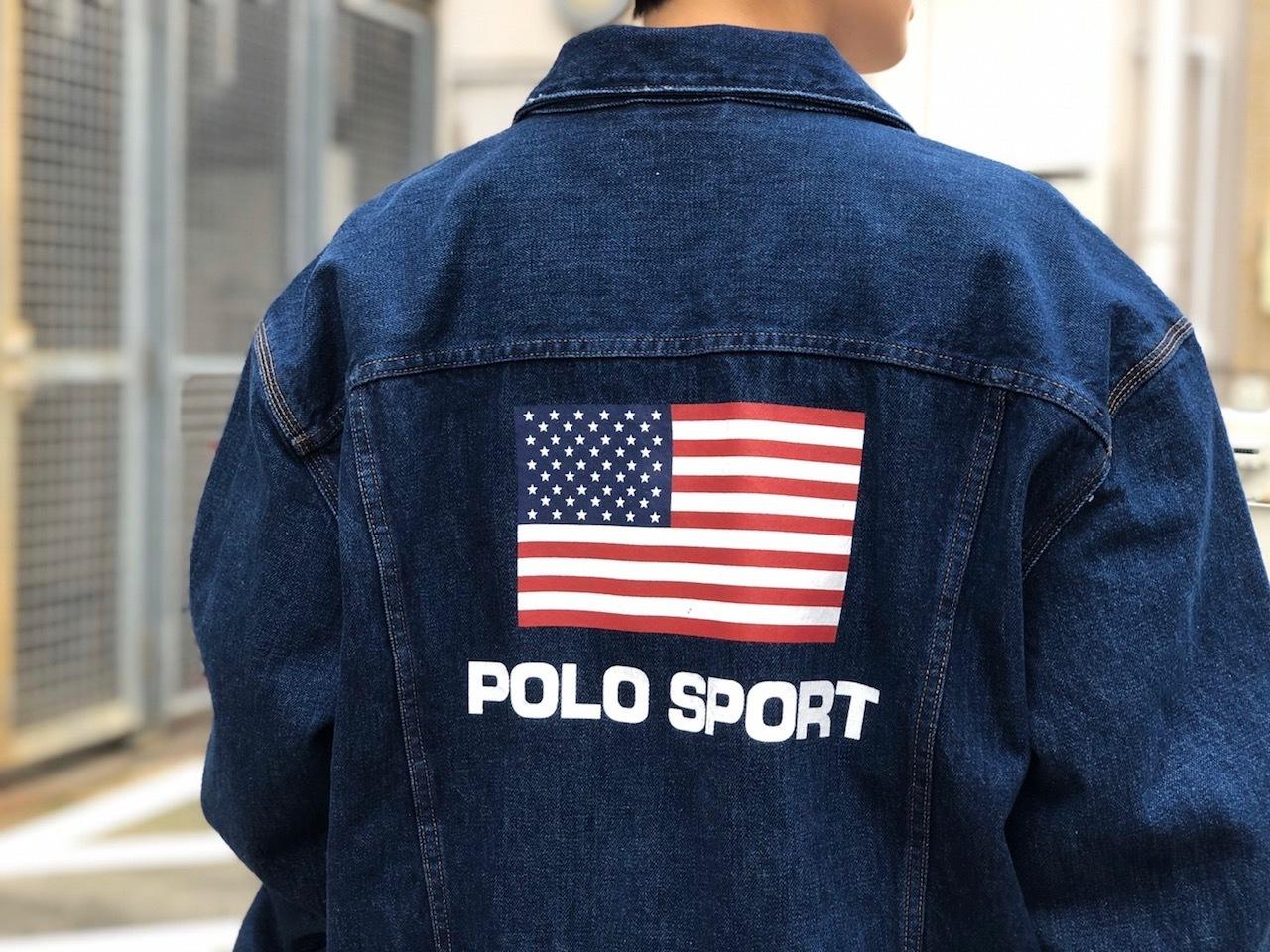 POLO SPORT US FLAG DENIM JACKET!!!_a0221253_21595916.jpg
