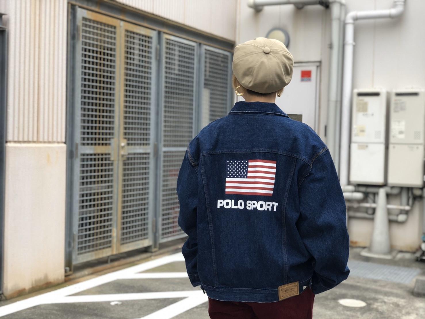 POLO SPORT US FLAG DENIM JACKET!!!_a0221253_22000052.jpg