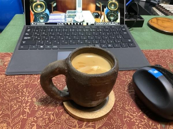帰宅してコーヒー_e0166355_09451490.jpg