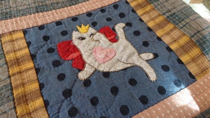 プリンセス招き猫のバッグ完成しました♪_f0374160_21510634.jpg