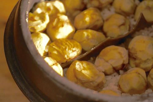 木蓋ごはん炊き土鍋で、秋の味覚!_e0080369_10060778.jpg