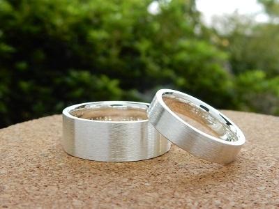 太めの結婚指輪   岡山_d0237570_15072481.jpg