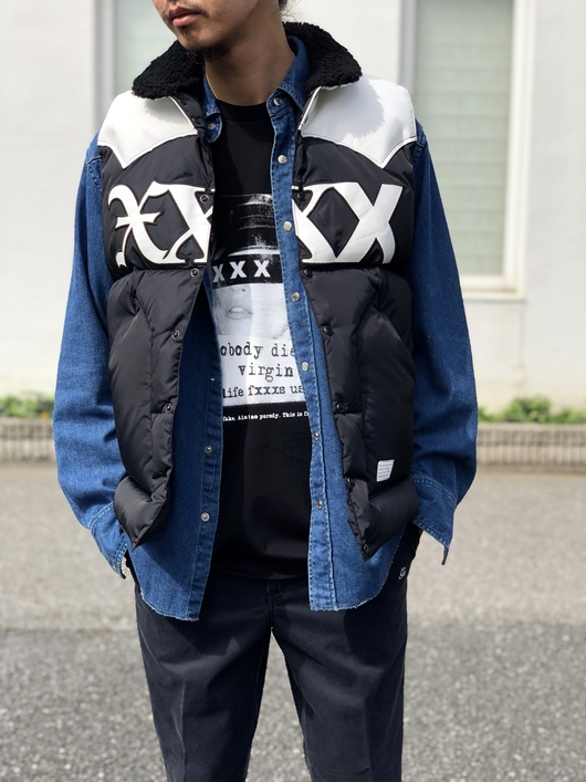 GOD SELECTION XXX × Rocky Mountain Featherbed_f0020773_18385245.jpg