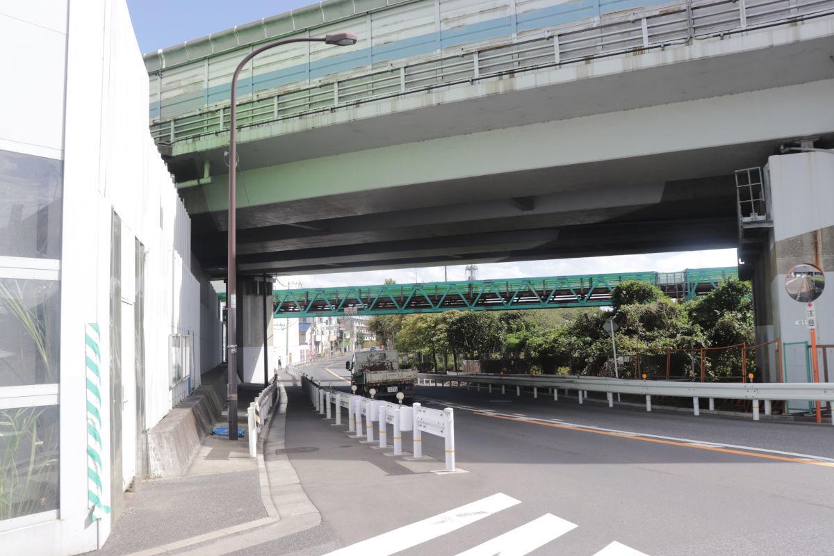 外環道(仮称)東名JCT付近 2019年9月の状況_a0332275_01560475.jpg