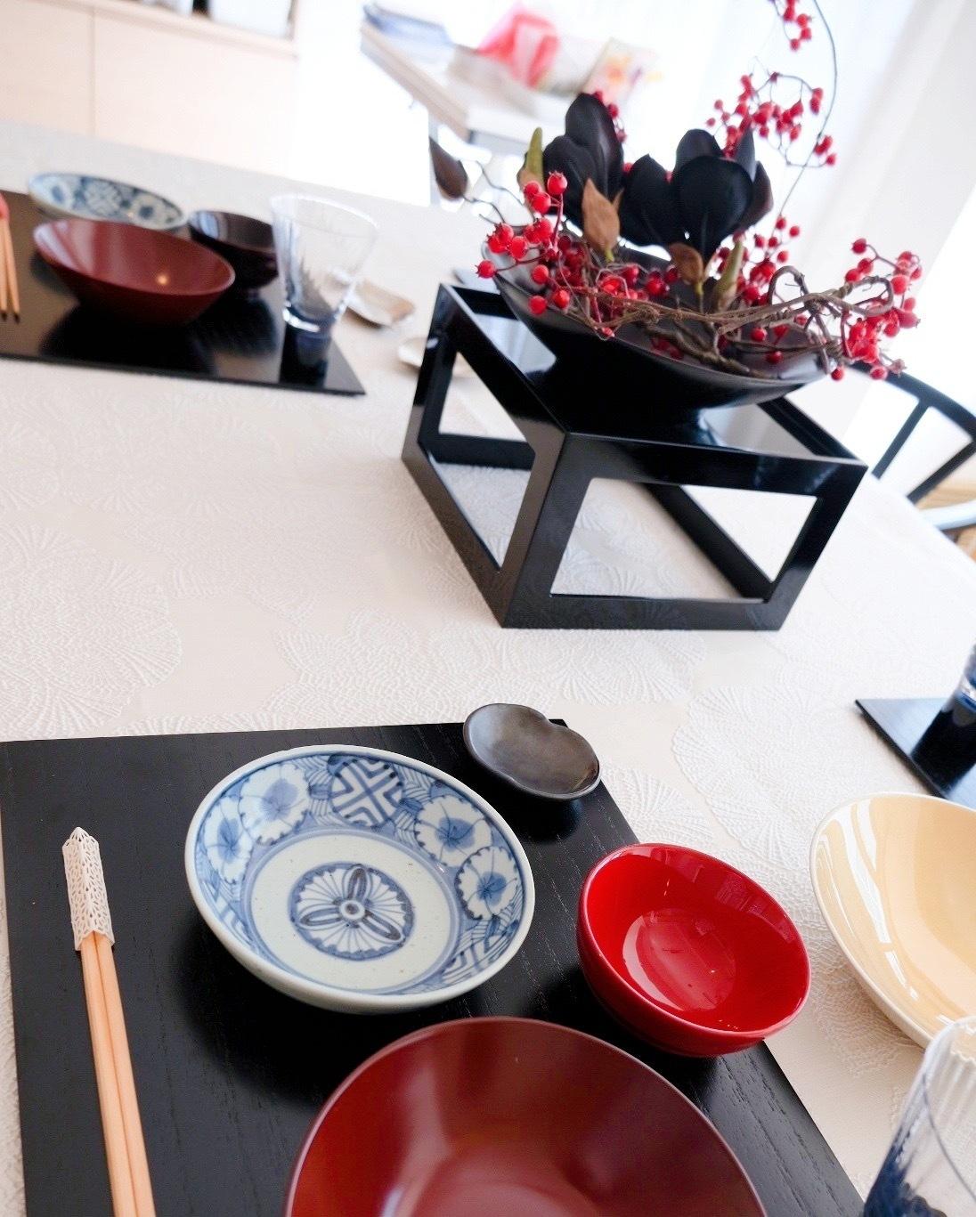 秋の和食レッスン テーブルコーディネート編_c0237291_11054609.jpeg