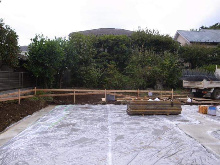 吉祥寺東町の家-基礎工事始まる_f0223603_17015471.jpg