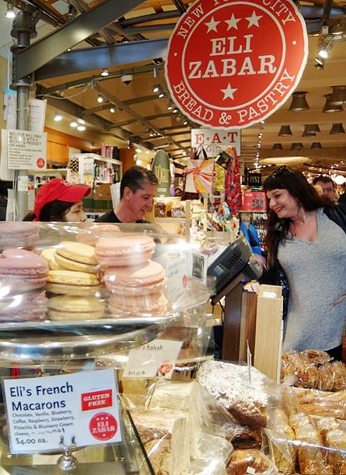 美味しそうなパンやケーキいっぱいのEli Zabar\'s Bread & Pastry_b0007805_04062111.jpg