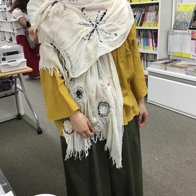 ~ニードル&ウール刺しゅう~『アトリエKYOKOのファッション塾』講座_c0357605_16441730.jpg