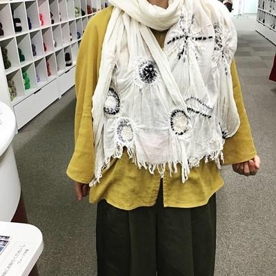 ~ニードル&ウール刺しゅう~『アトリエKYOKOのファッション塾』講座_c0357605_16441738.jpg
