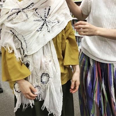 ~ニードル&ウール刺しゅう~『アトリエKYOKOのファッション塾』講座_c0357605_16441829.jpg