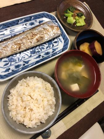 太刀魚の塩焼き_d0235108_20213904.jpg