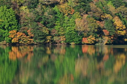 奥日光 湯ノ湖の紅葉の始まり1_a0263109_19262458.jpg