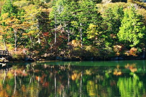 奥日光 湯ノ湖の紅葉の始まり1_a0263109_19271642.jpg
