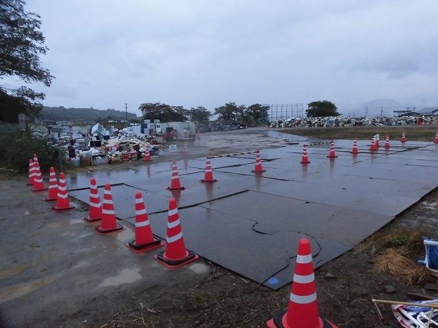 NPOふじ環境倶楽部で台風19号で被災した長野市に支援物資を運搬・納入_f0141310_09011812.jpg