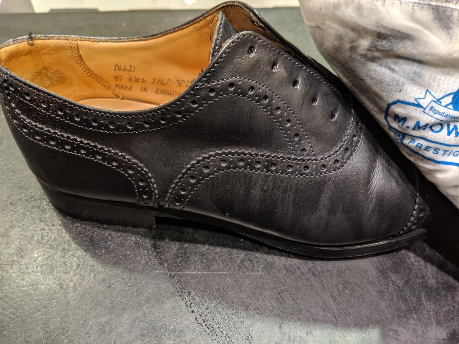 革靴が雨に濡れてしまった時_b0226322_19212018.jpg