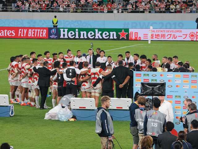 日本vs南アフリカ@東京スタジアム(参戦)_b0000829_1762314.jpg