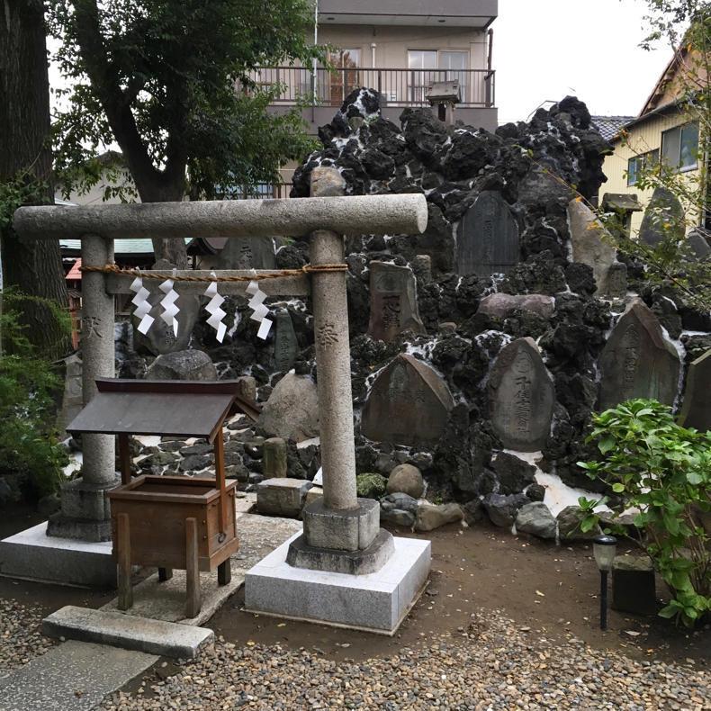千住宮本富士を見にいってきました_c0060143_10274350.jpg