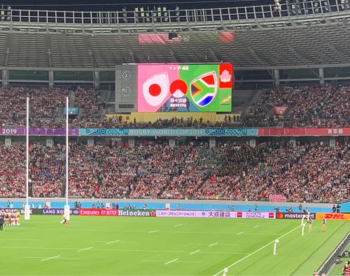 ラグビーワールドカップ 日本対南アフリカを観戦してきました。_a0111845_07324021.jpg