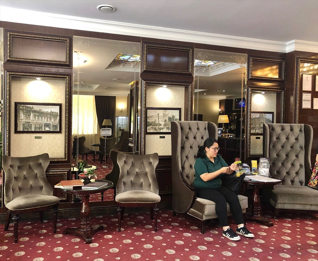 キシナウのホテルBRISTOL@モルドヴァ_a0092659_16592904.jpg