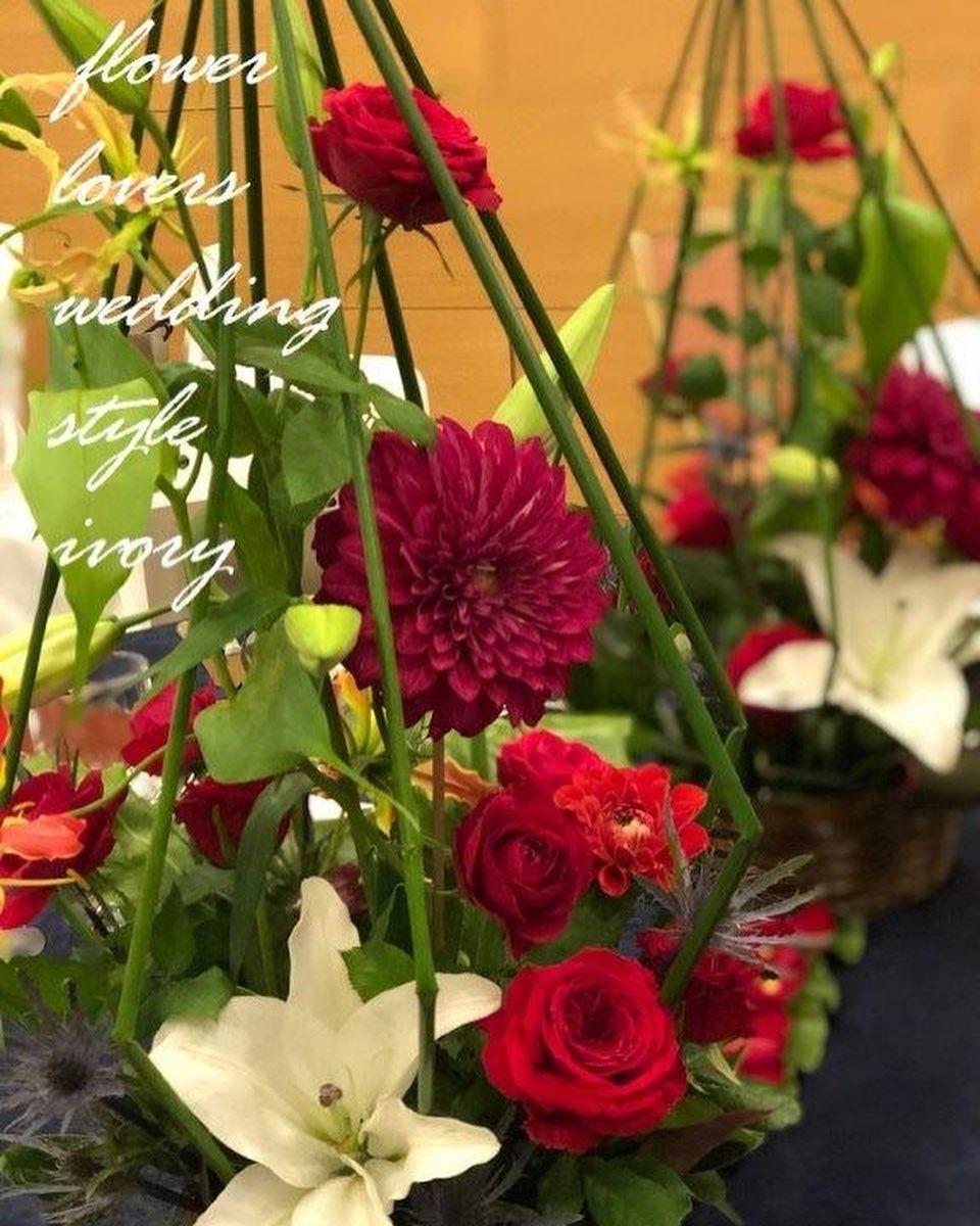 週末の婚礼から〜♬_b0094378_21115263.jpeg
