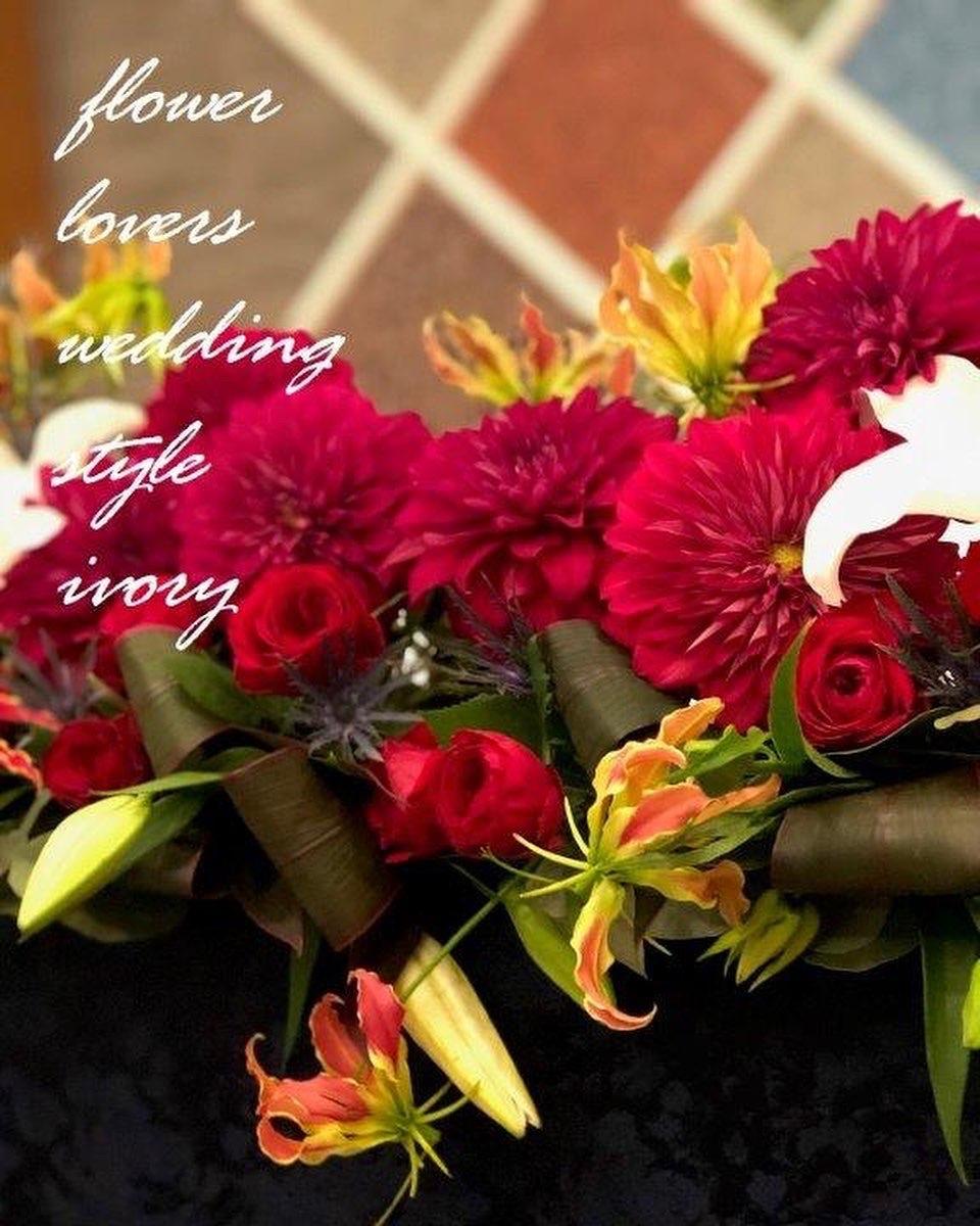 週末の婚礼から〜♬_b0094378_21132669.jpeg