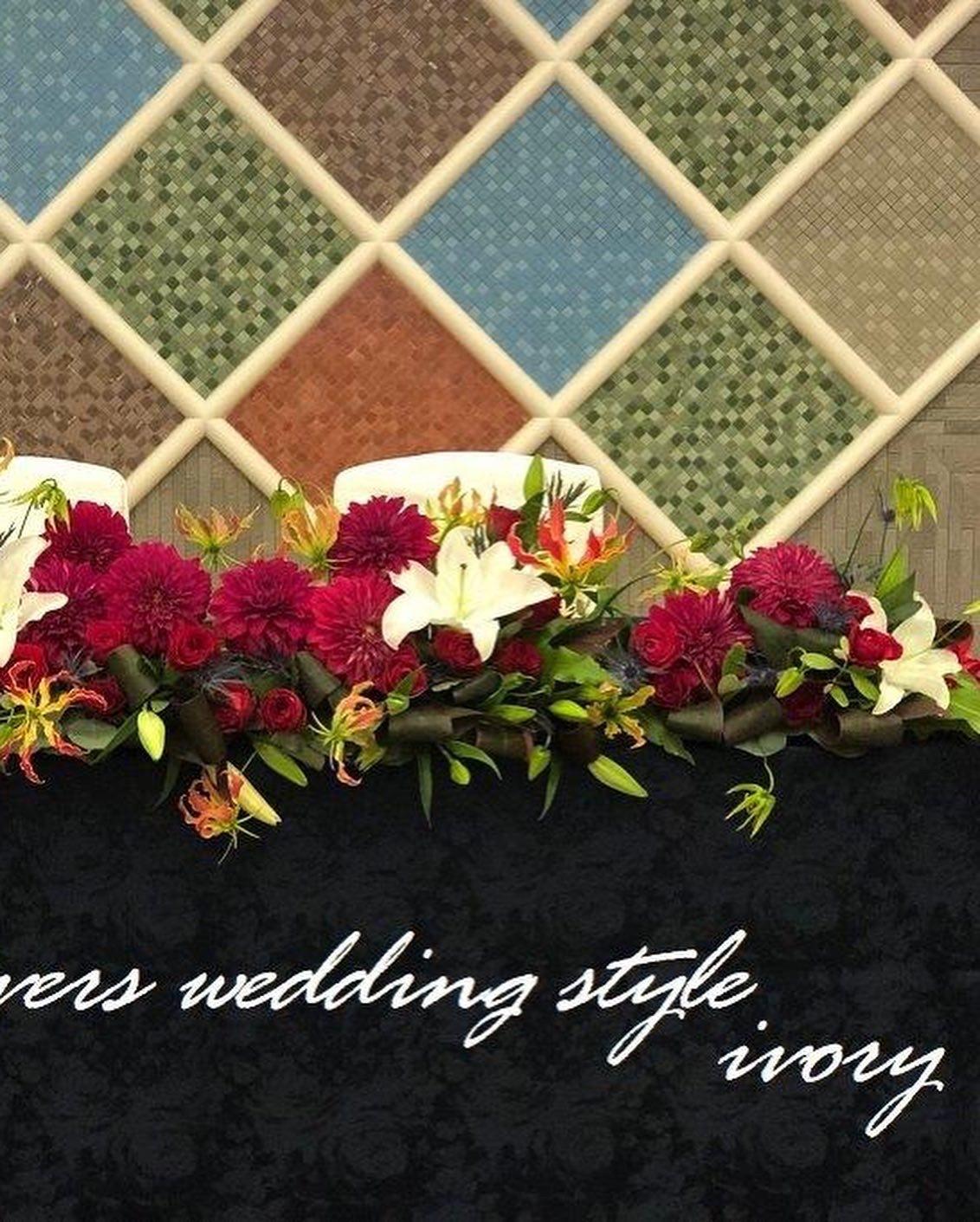 週末の婚礼から〜♬_b0094378_21141711.jpeg