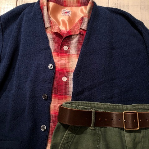 """1950s \"""" FRUIT OF THE LOOM - SPORTS WEAR - \"""" ALL cotton PRINT-FLANNEL CHECK SHIRTS ._d0172088_15303500.jpg"""