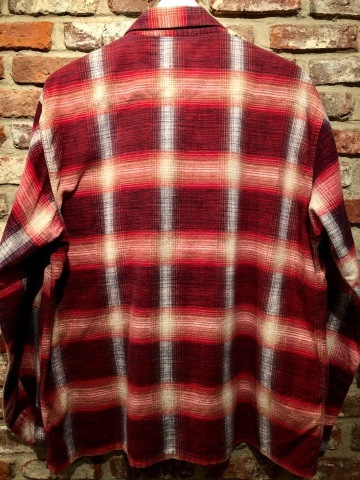 """1950s \"""" FRUIT OF THE LOOM - SPORTS WEAR - \"""" ALL cotton PRINT-FLANNEL CHECK SHIRTS ._d0172088_16502090.jpg"""