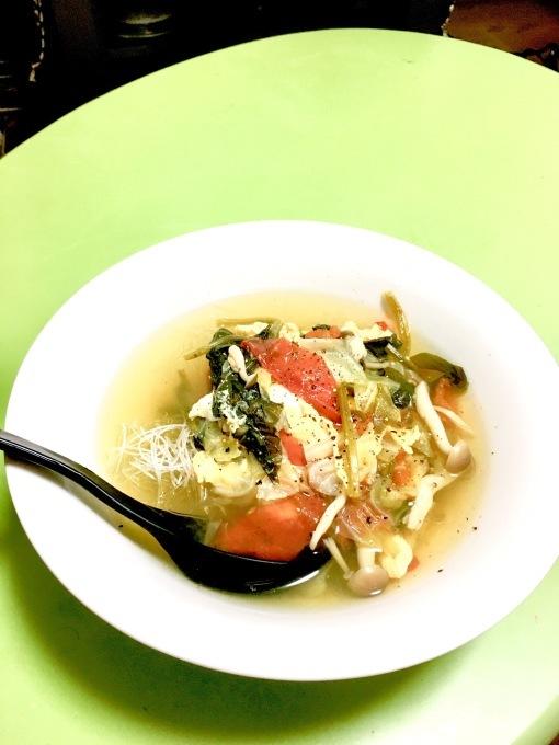 中華野菜スープo(^o^)o_e0097491_22333626.jpeg