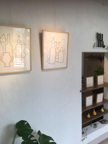 risa kazama solo exhibition1_f0143397_12553027.jpg
