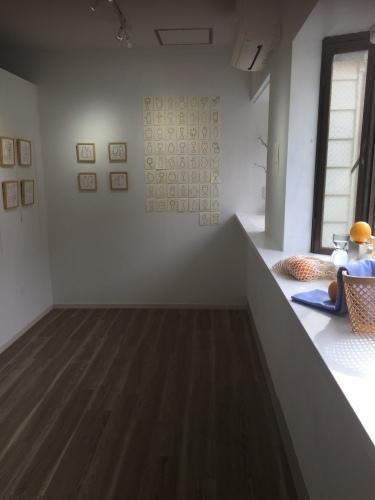 risa kazama solo exhibition1_f0143397_12554361.jpg