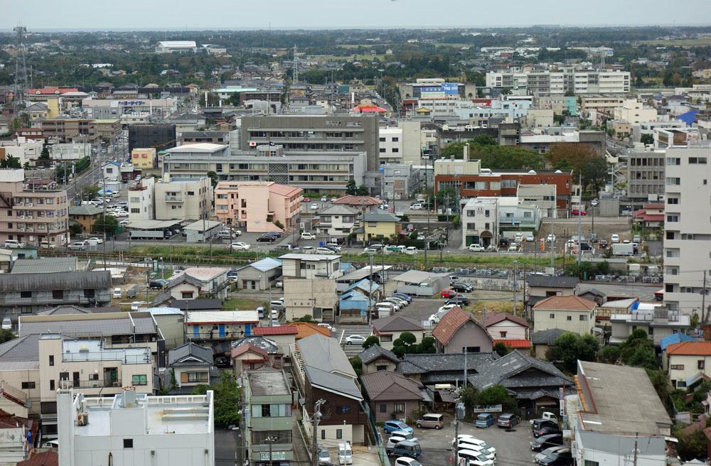 山王台から東金市街をパチリ_b0114798_16404732.jpg
