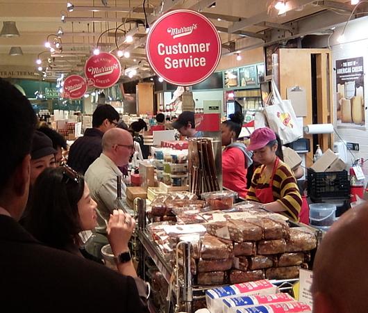 NY No1老舗チーズ屋、マレーズ・チーズの『2ドル食』はやっぱりチーズ_b0007805_02435677.jpg