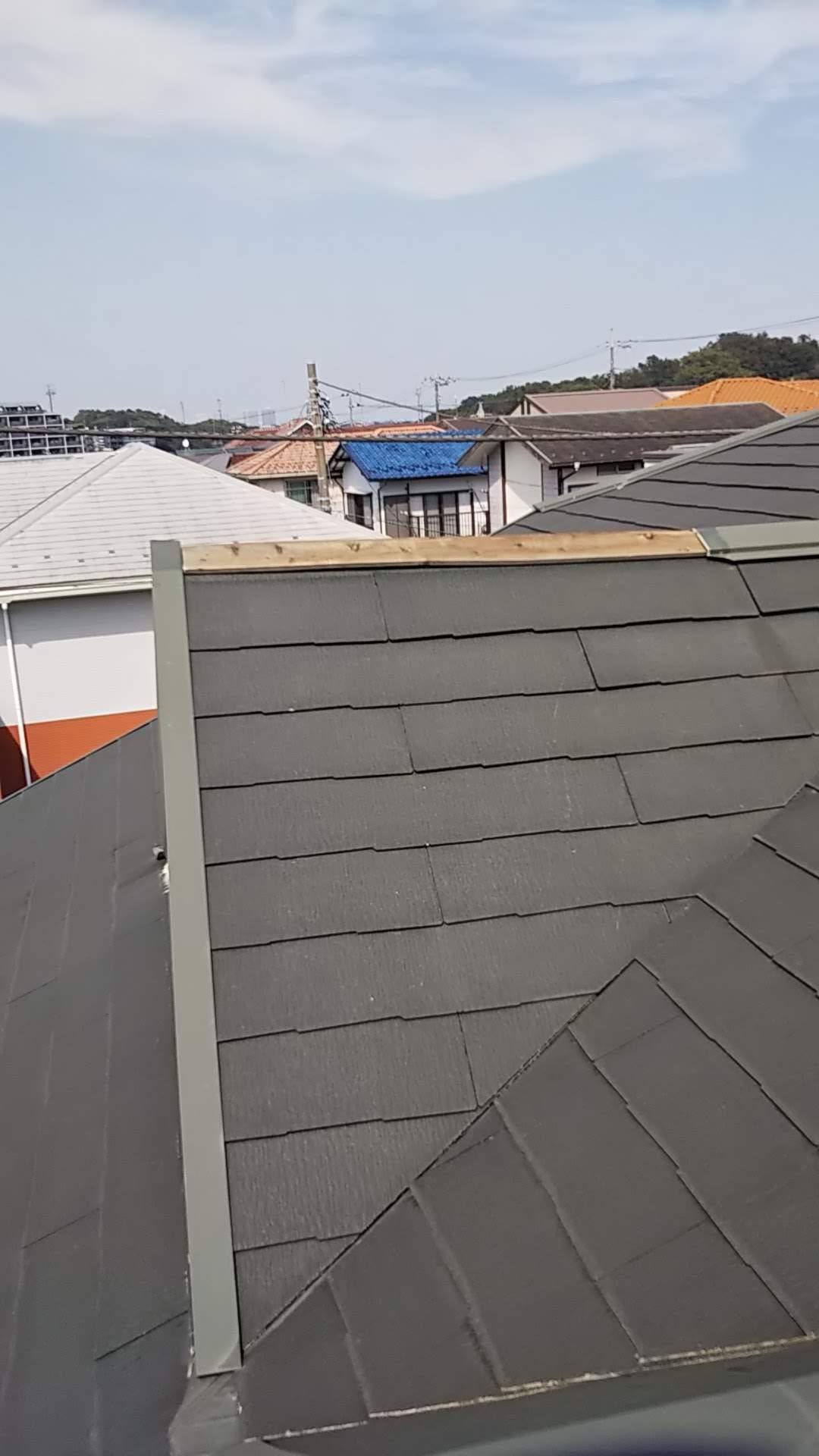 屋根の棟板金_d0358411_19090506.jpg