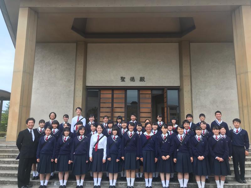 くらしき作陽大学見学会 〜聖徳殿にて_d0016622_20062334.jpg